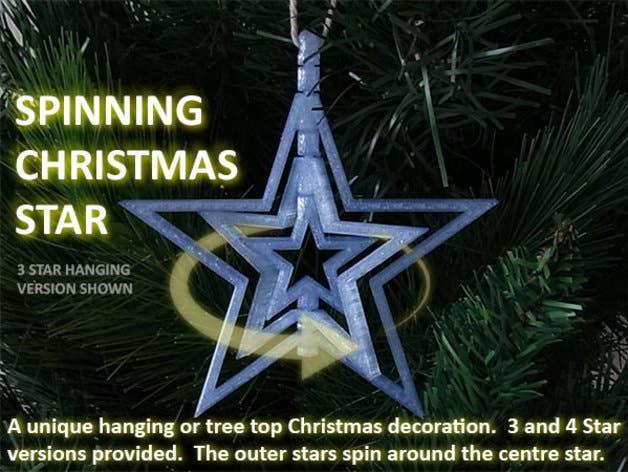 Spinning Star Ornament