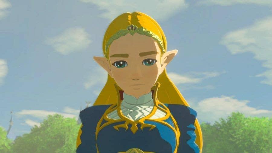 Princess Zelda in The Legend of Zelda: Breath of the Wild