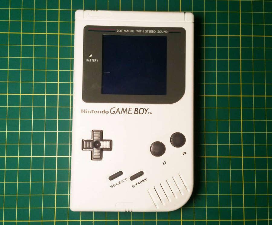 Examine the Game Boy