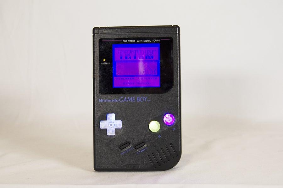 RGB button Game Boy