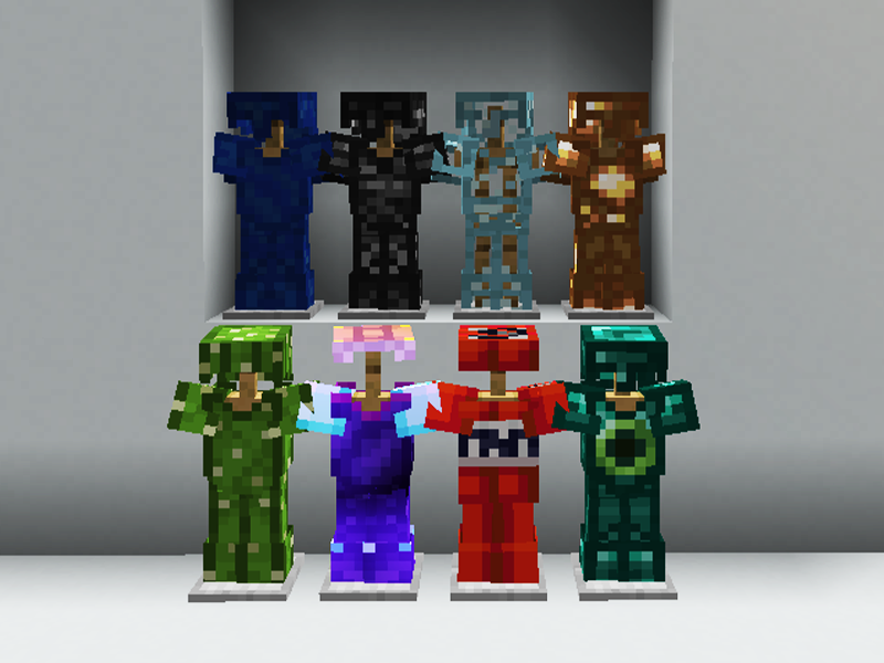 Oops All Armor minecraft mod