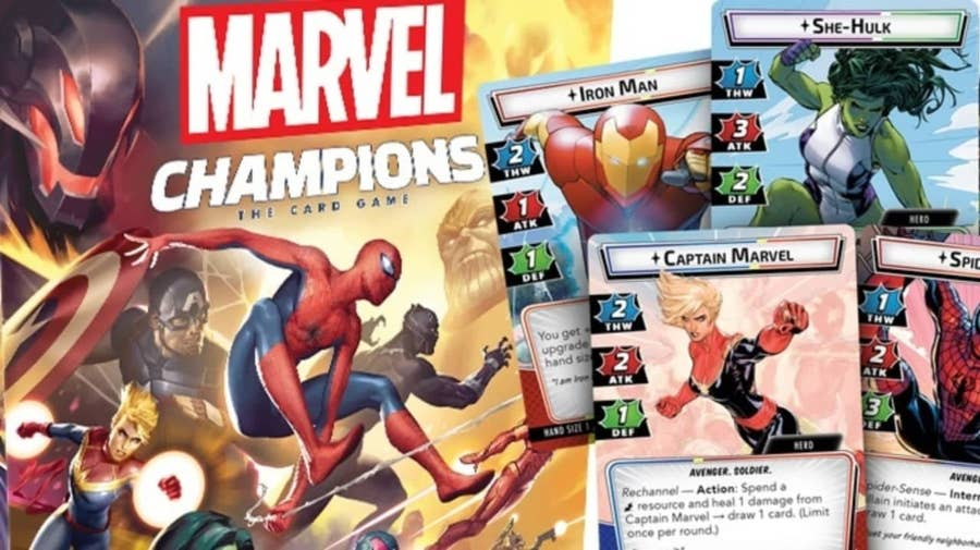 Marvel Champions: The Card Game (2019)