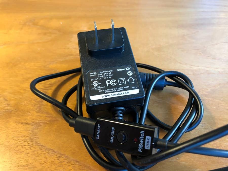 Canakit Raspberry 4 Power Supply