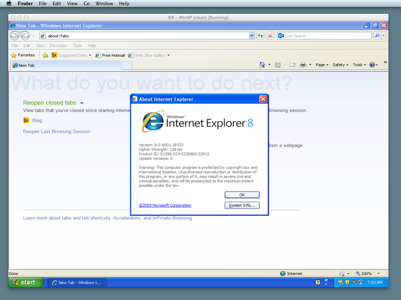 How to Run Internet Explorer on Mac (For Free)