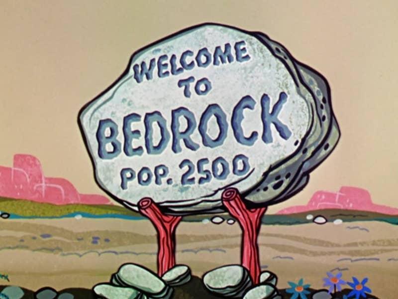 tv show reboot flintstones bedrock