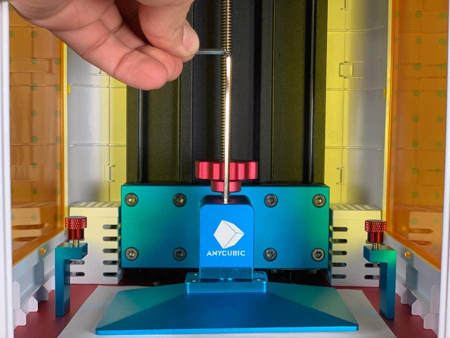 Adjusting the Anycubic Photon print head angle