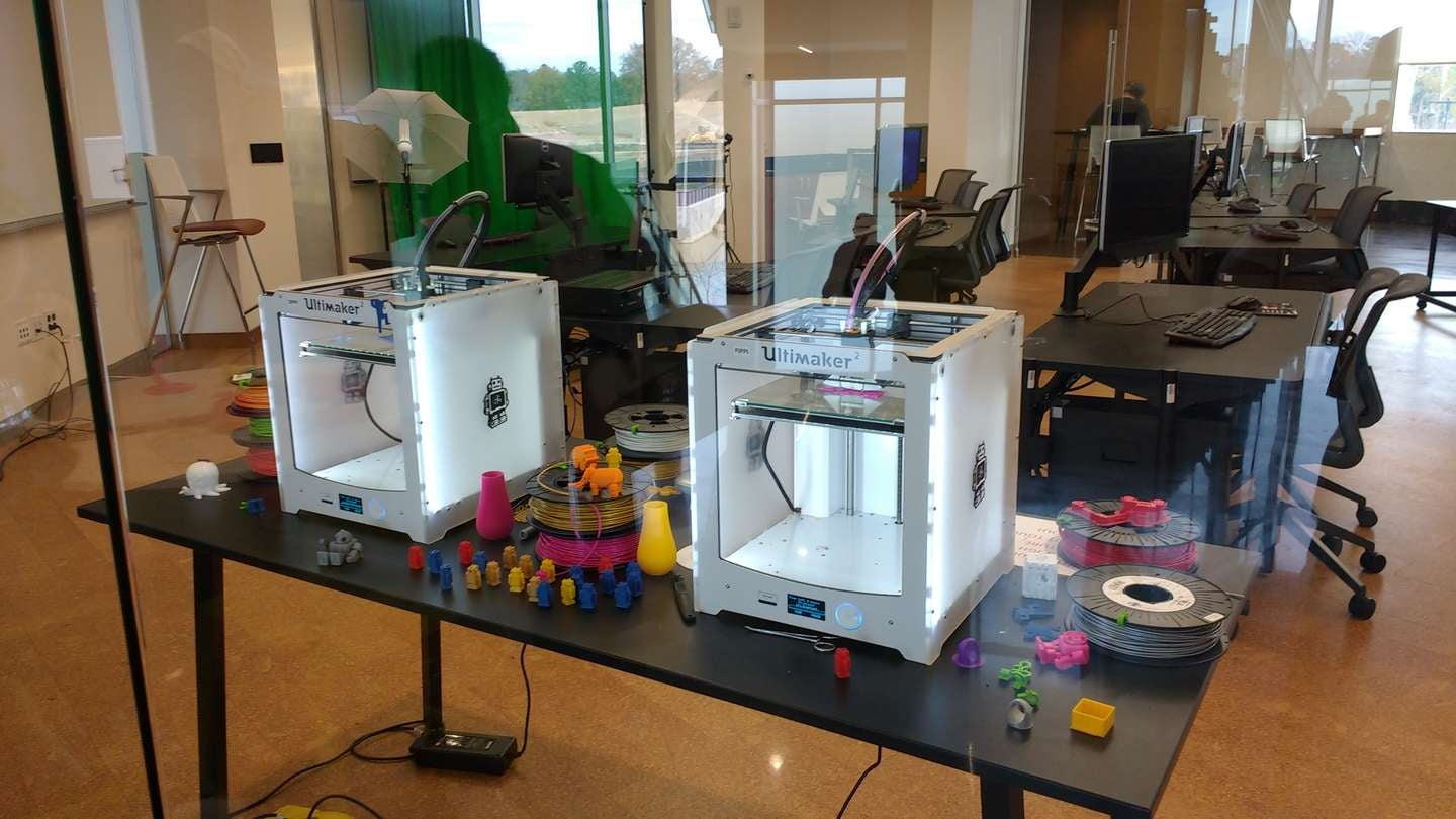 Library 3D printing