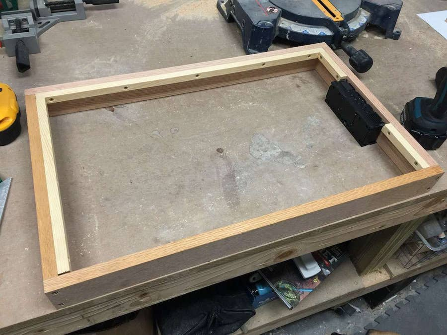Building frame supports