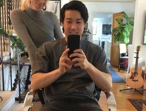 VanossGaming haircut