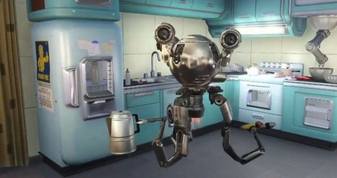 Codsworth from Fallout