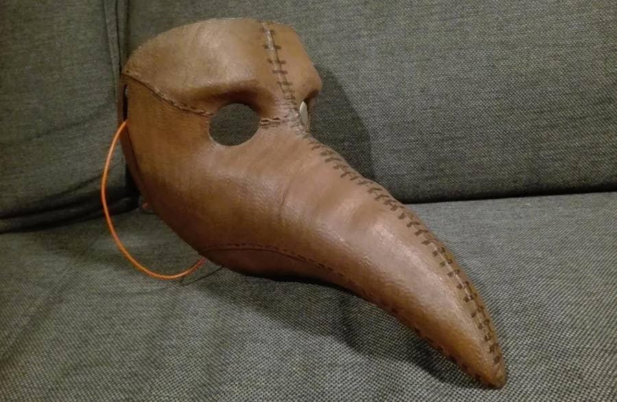 3D printed Plague Doctor Mask