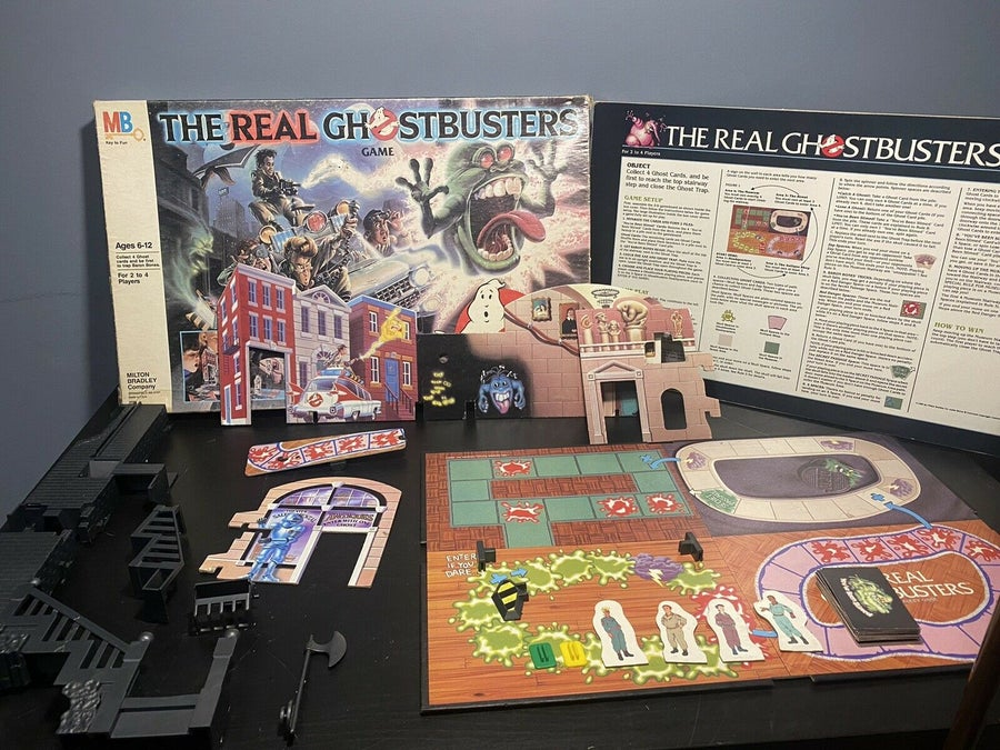 The Real Ghostbusters Game