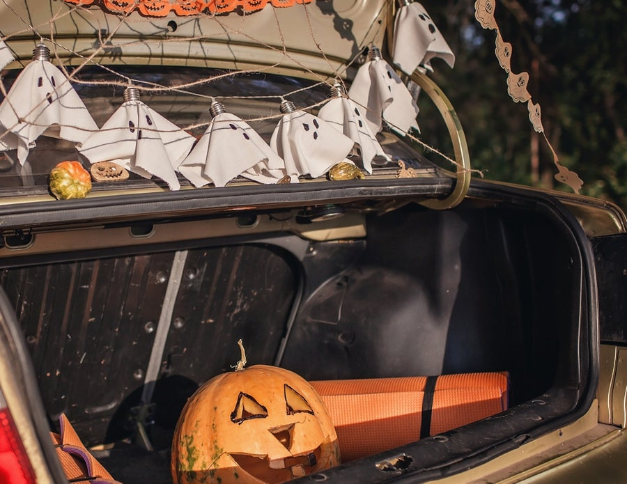 Trunk-or-treat.