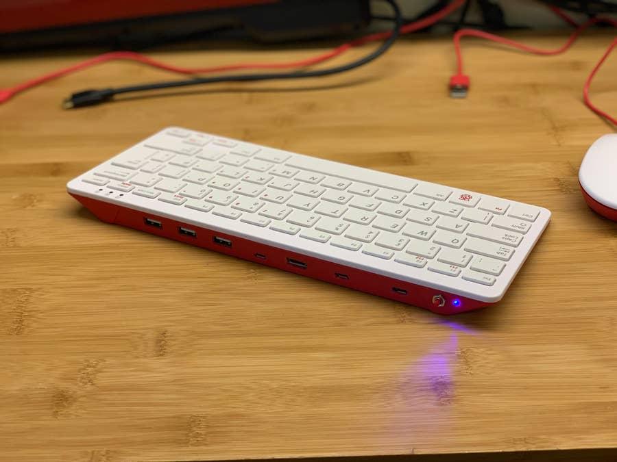 Raspberry Pi all-in-one keyboard