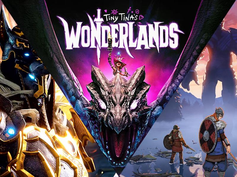 gearbox software tiny tinas wonderlands borderlands movie tribes of midgard godfall