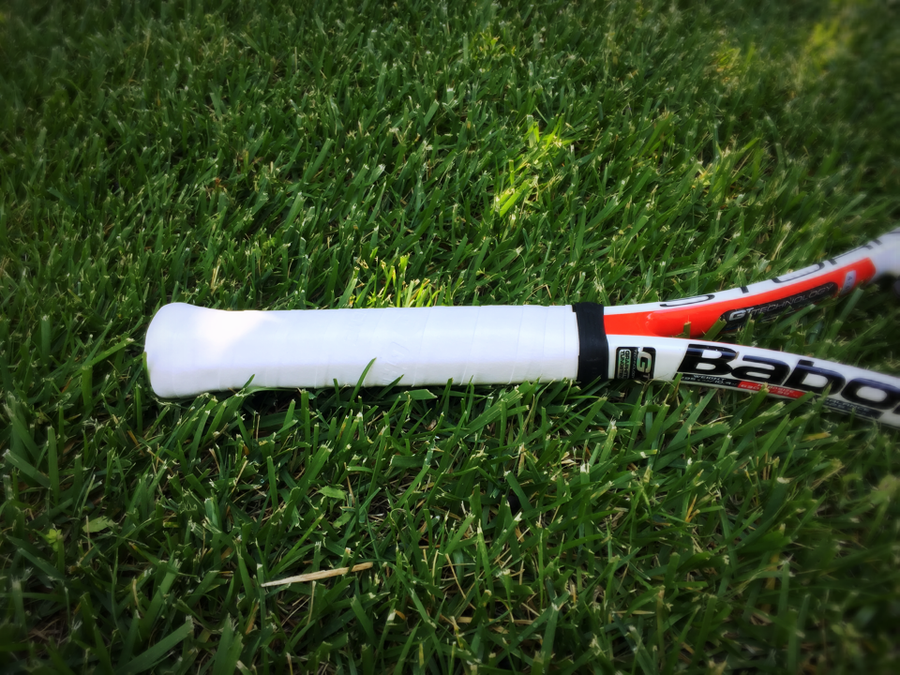How to wrap overgrip tape on a tennis racket