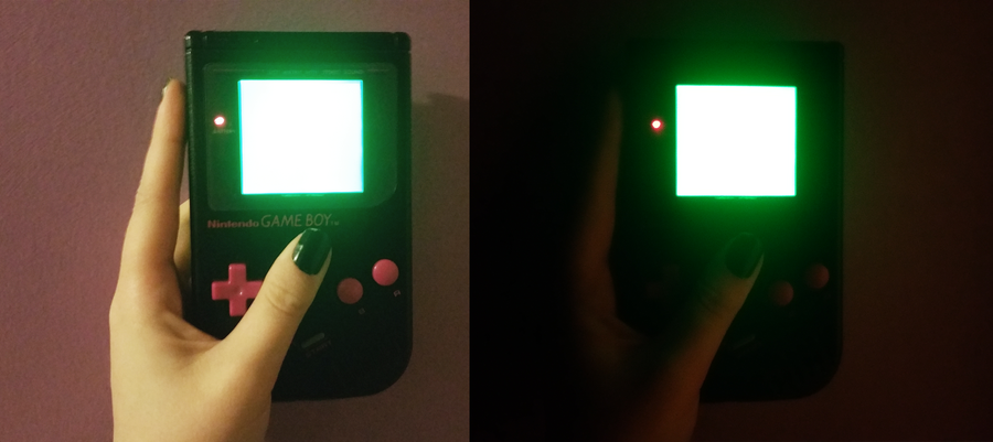 How to install a backlight in a Game Boy