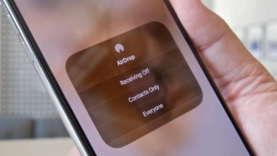 How to Adjust Your AirDrop Sharing Settings