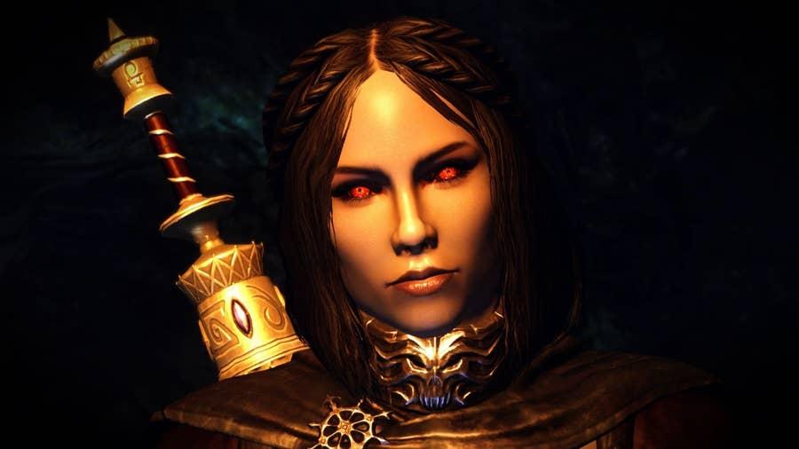 Serana from The Elder Scrolls V: Skyrim