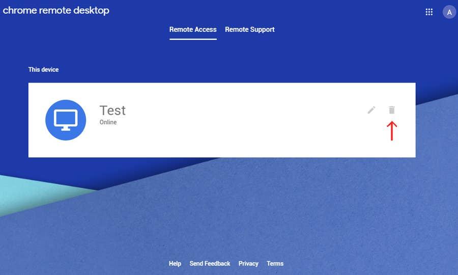 Chrome Remote Desktop Remove Computer