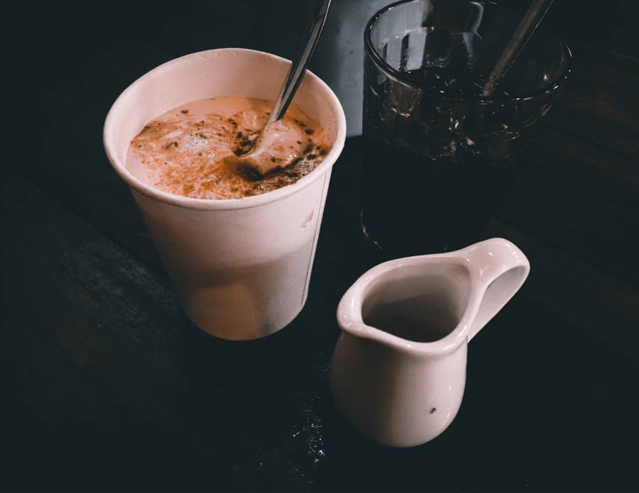 Egg coffee.