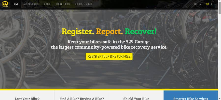 Project529 Bicycle registration