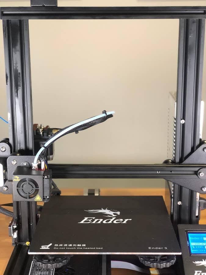 Ender 3 print volume/bed size