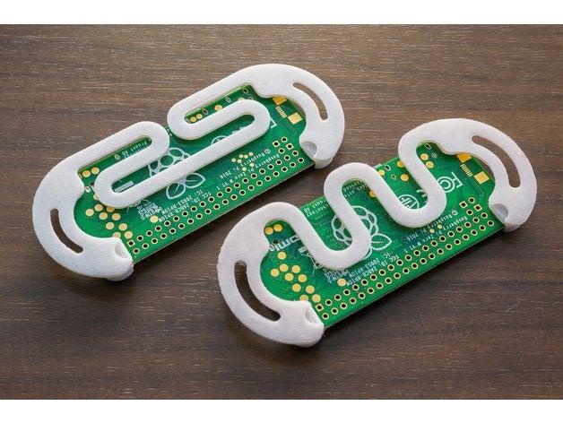 Minimal 3D printed Raspberry Pi Zero case