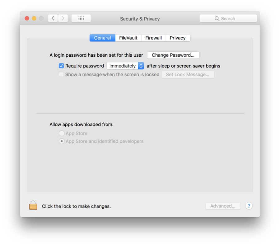 Configure your Mac to require a password when the screen saver begins
