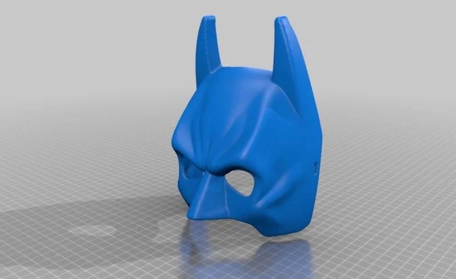 3D Printed Batman mask