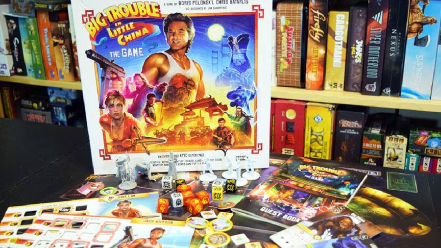 Big Trouble in Little China: The Board Game