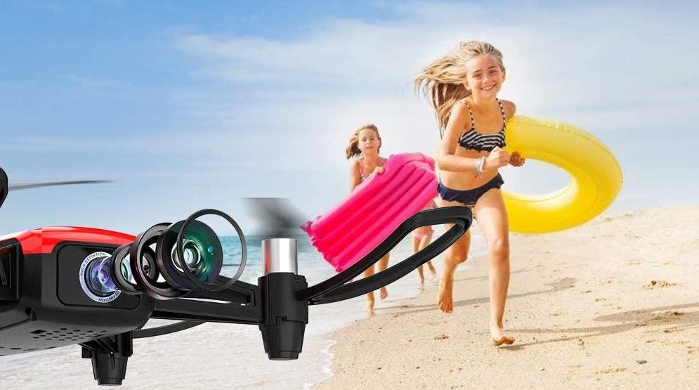 Camera Drone at Beach
