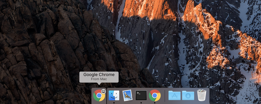 How to disable Chrome tab sharing (Handoff) in MacOS