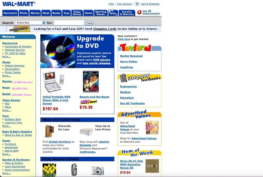 walmart original website