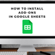how to install addons in google sheets
