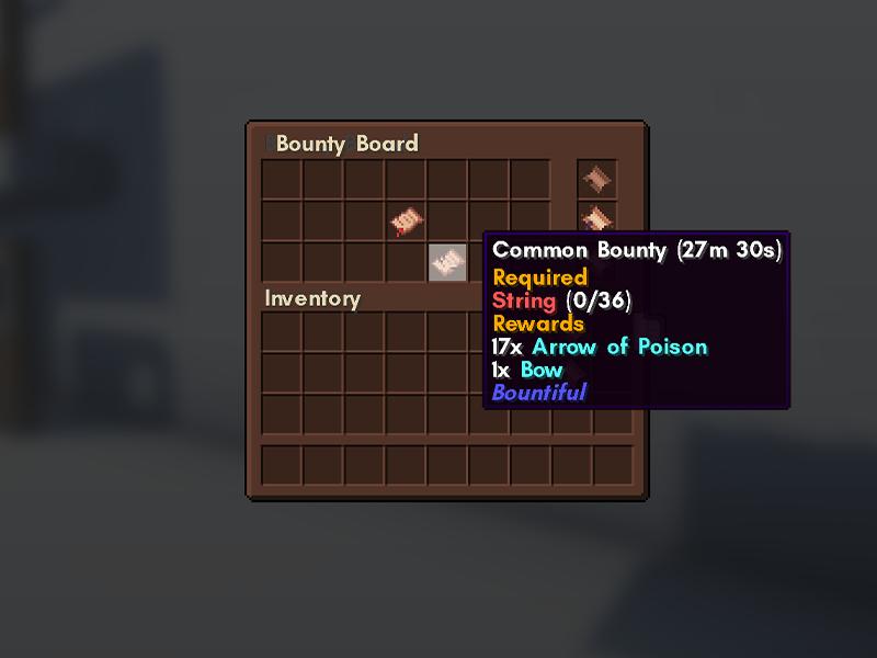 bountiful bounty board forge mod minecraft