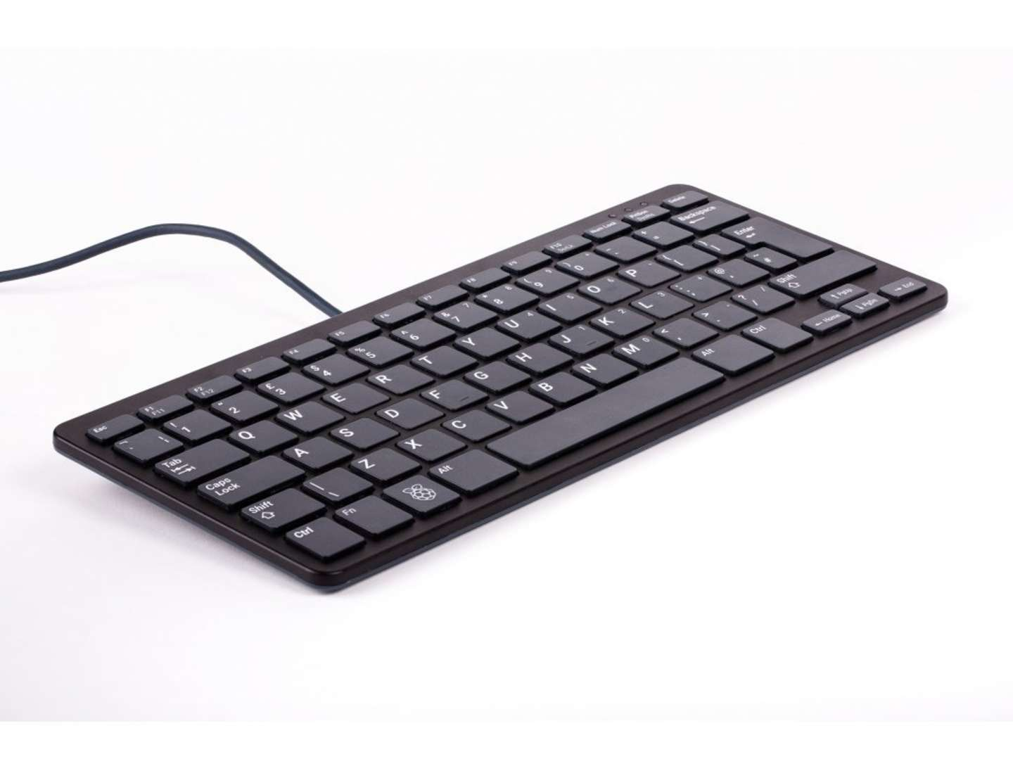 Black Raspberry Pi keyboard