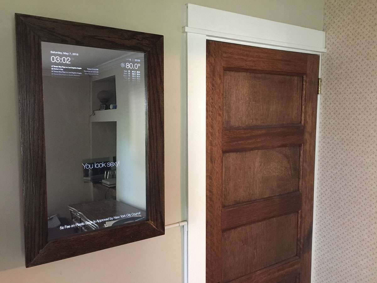 Build a Voice-Controlled DIY Raspberry Pi Smart Mirror with Jasper