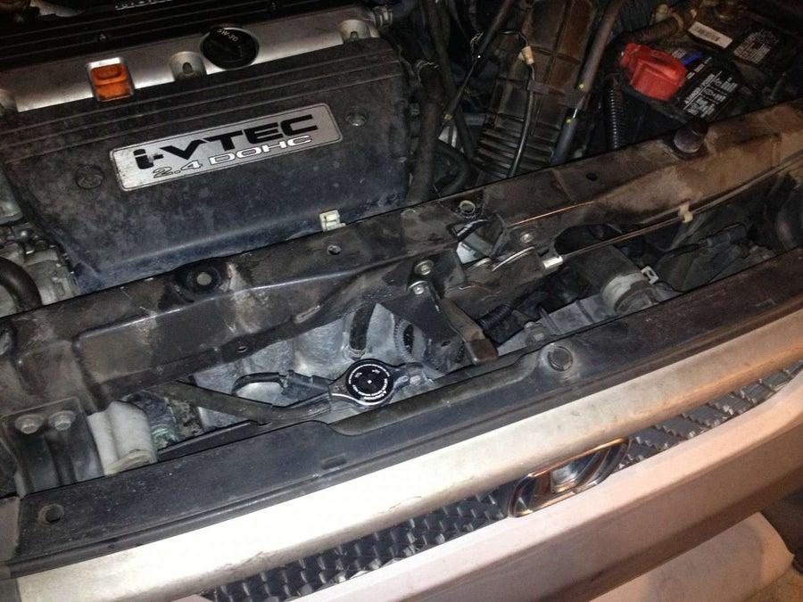 Honda element radiator replacement