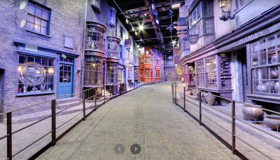 Diagon alley google street view