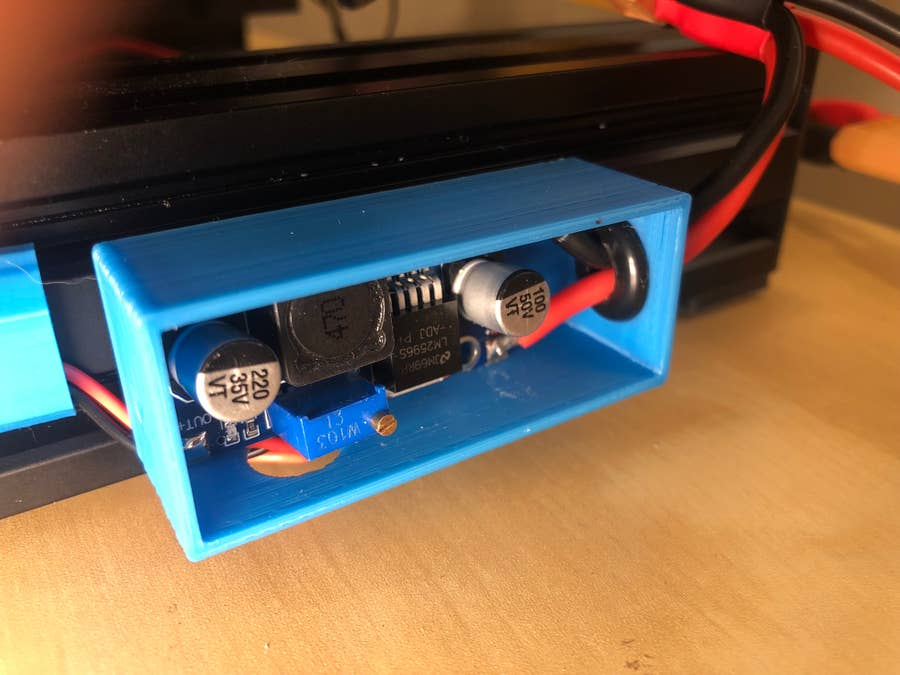 3D printer LED strip buck converter