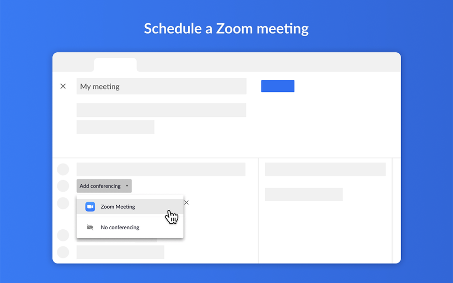 zoom google workspace addon