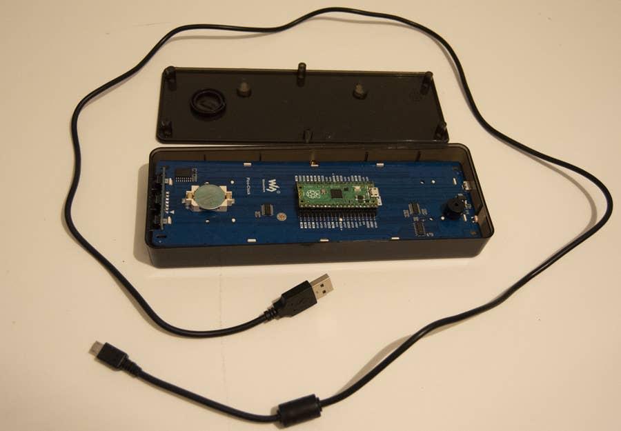 Waveshare Pico Clock Components
