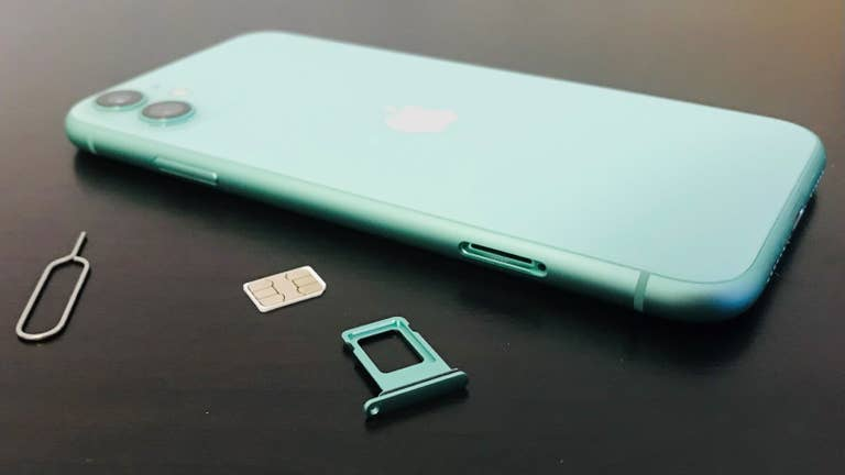 How to Remove a SIM Card from an iPhone