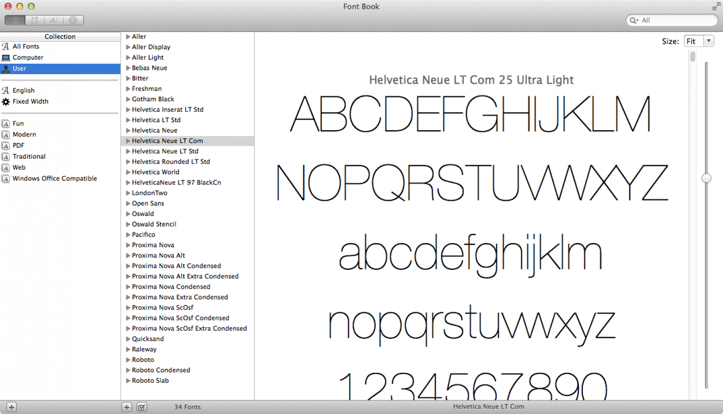 How to Install Multiple Fonts at Once on Mac into Font Book