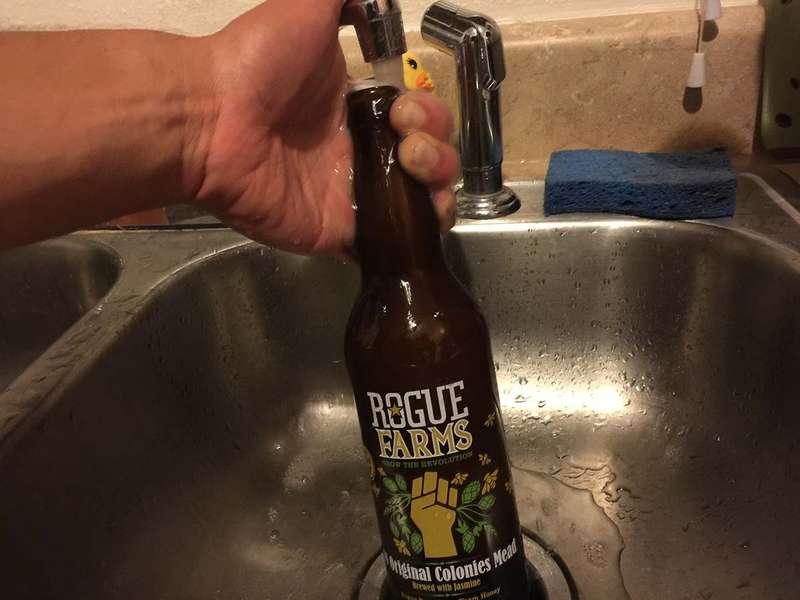 Wash the bottles
