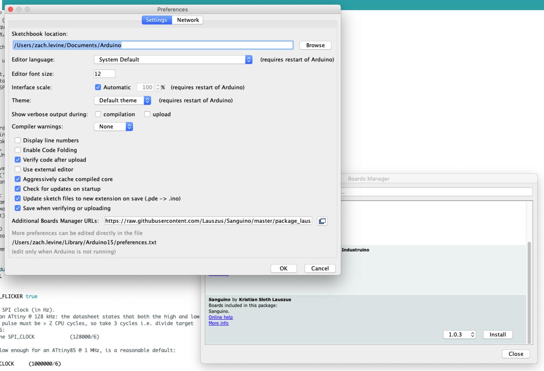 Adding a custom board to Arduino IDE