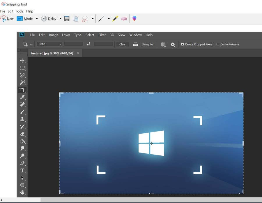 windows screenshot snipping tool
