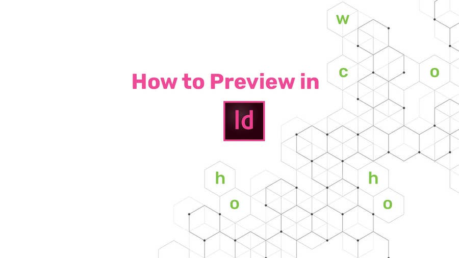 How to Preview in InDesign