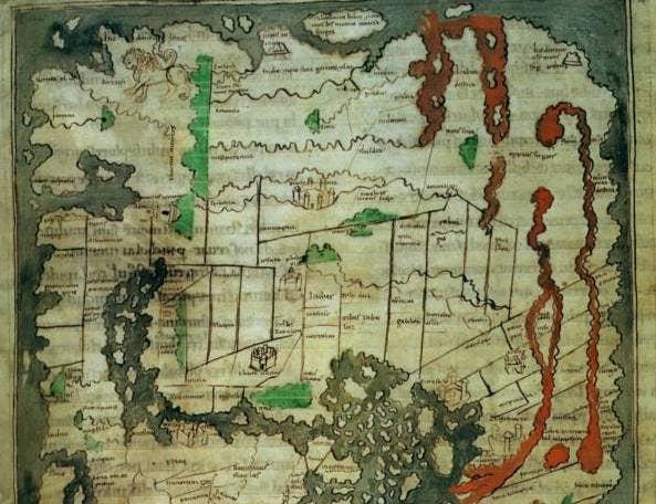 cotton world maps